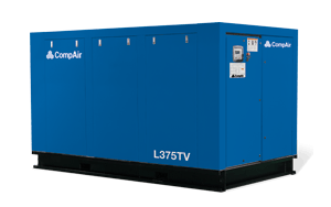 Variable Displacement Rotary Screw Compressors L-TV Series 149-410 kW