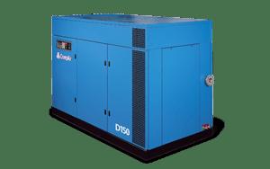 Oil Free Rotary Screw Compressors D Series 75-150 kW