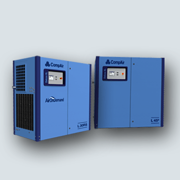 Fixed Speed Rotary Screw Compressors L Series 30-132 kW